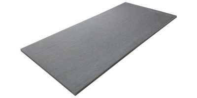Terrastegel 120x60x2 cm, Dusty Black